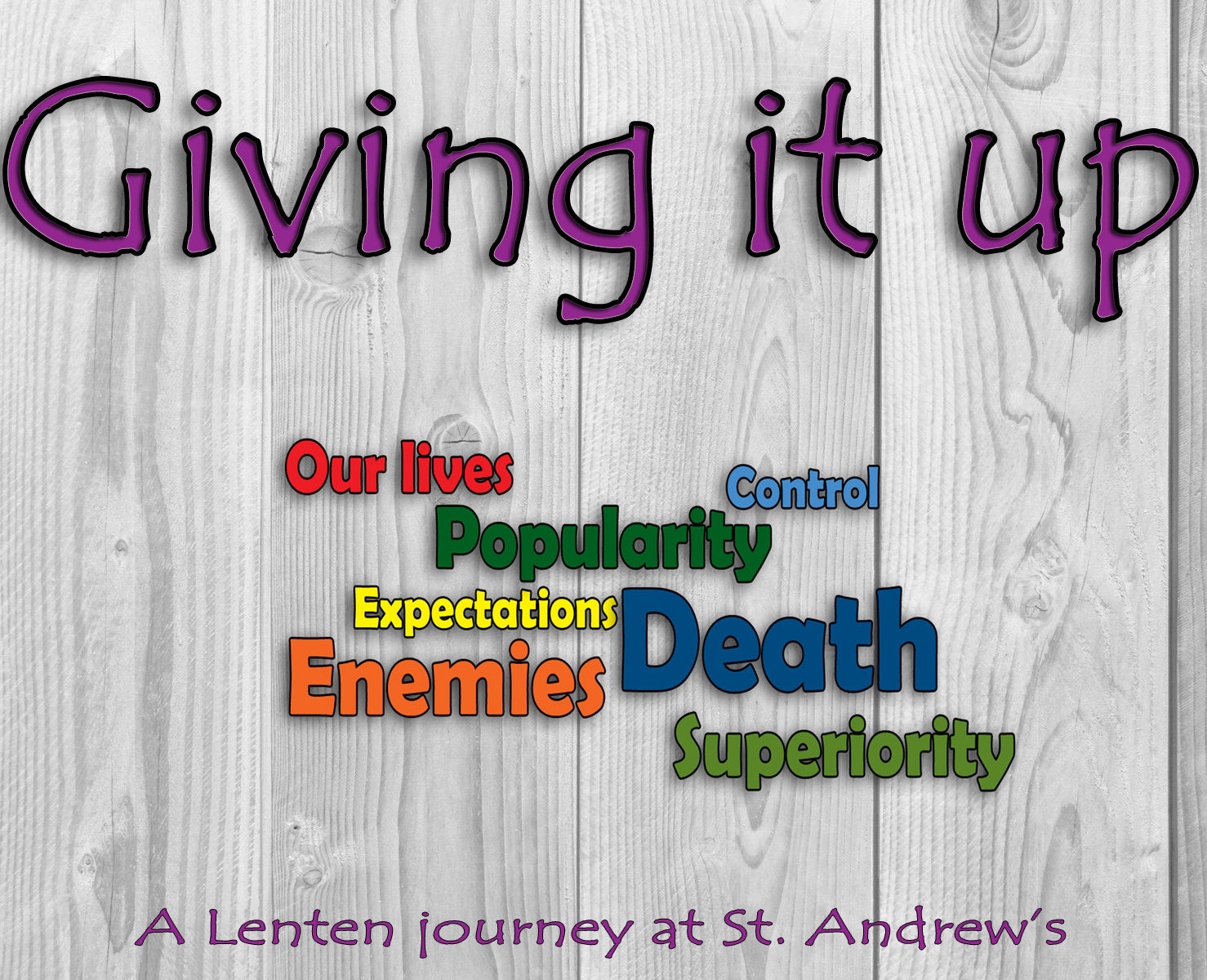 """Giving it up: Giving up Expectations"""